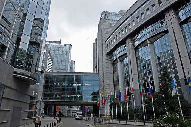 Комплекс зданий Евросоюза