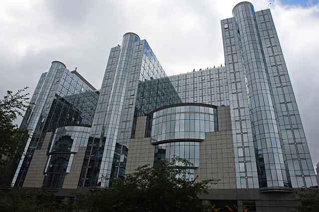 Квартал Европа - здания Евросоюза