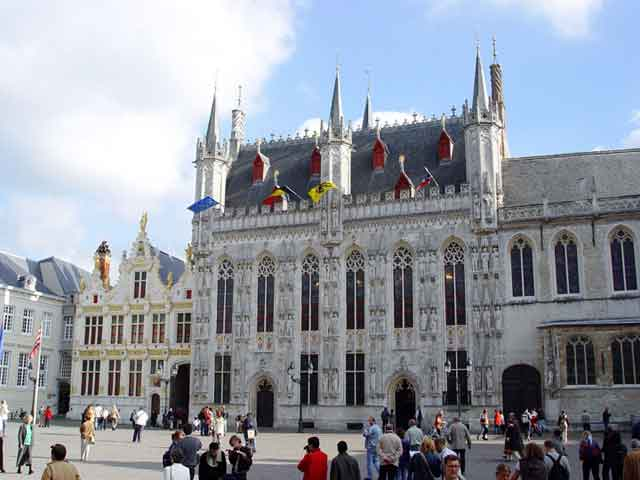 Brugge, ратуша