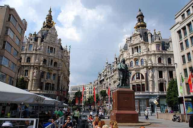 Antwerpen, улица Meir