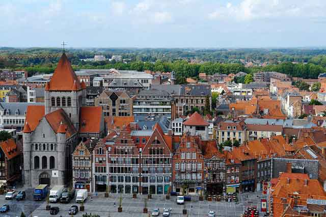 Tournai, центральная площадь