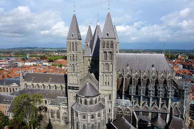 Кафедральный собор Богоматери в Tournai