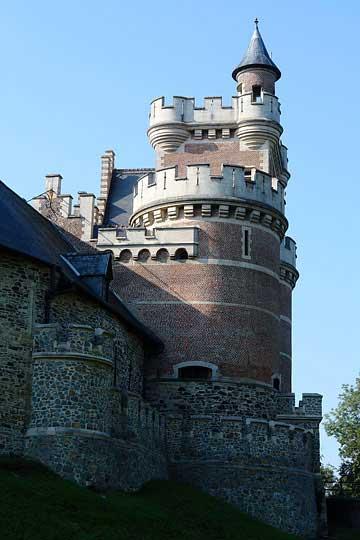 Башня замка Gaasbek