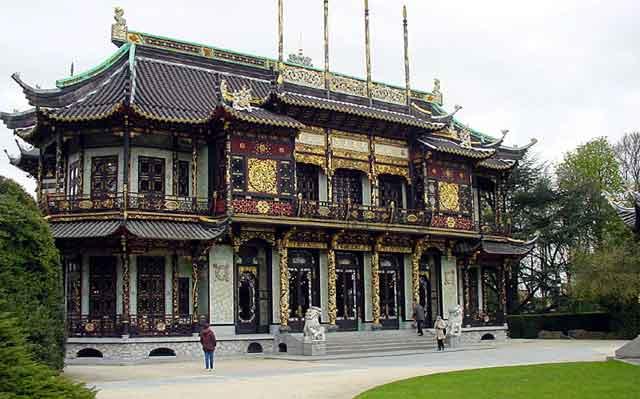 Китайский павильон в Laeken