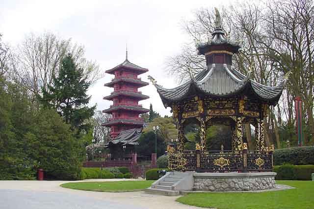 Китайская пагода в Laeken