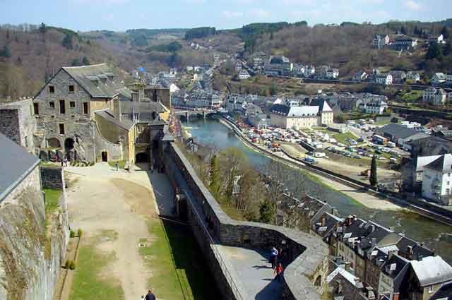 Крепостная стена Bouillon