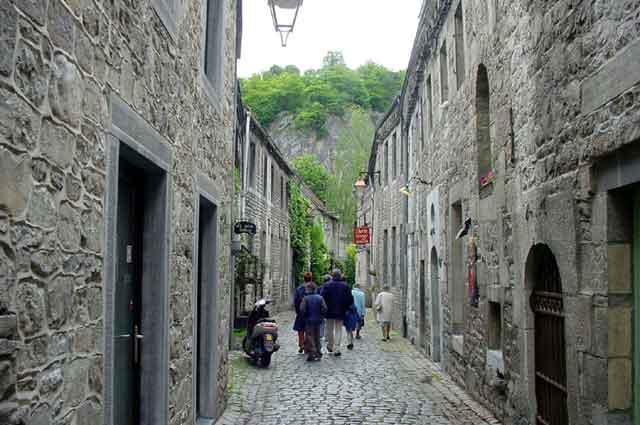 Средневековая улица в Durbuy