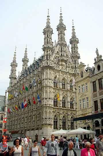 Ратуша в Leuven