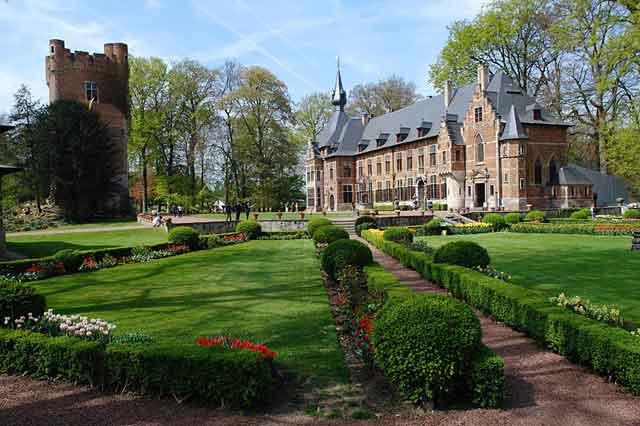 Сад замка Groot Bijgaarden