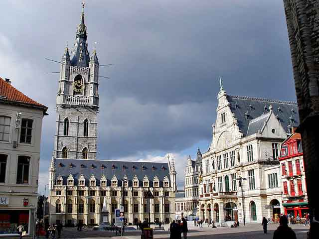 Gent, центральная площадь
