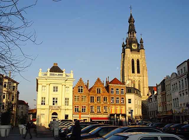 Kortrijk, центральная площадь