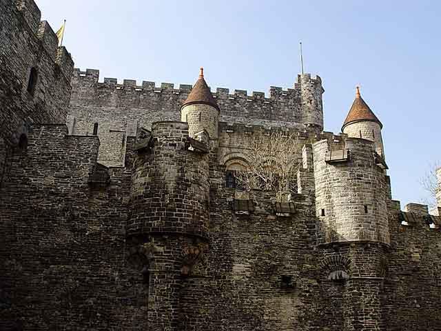 Башня замка Gravensteen