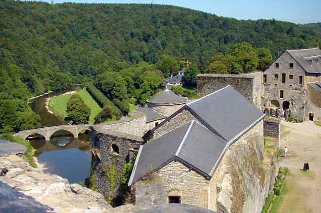 Bouillon. Вид с холма